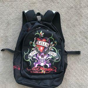 Ed Hardy Christian Audigier Backpack